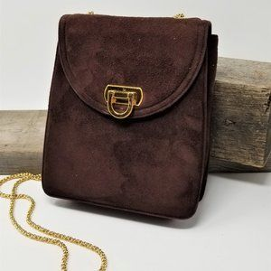 Vintage Crossbody Bag Frenchy of Cali Suede
